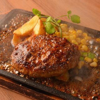熟成牛のハンバーグ&ステーキ