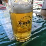 小樽ビール 夏のビアガーデン -