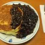 とらや椿山 - 小倉ホットケーキ