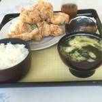 大福食堂 - 唐揚げ定食640円