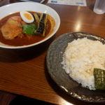 55117547 - 知床鶏のスープカレー 1350円