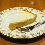 ティーハウスタカノ - チーズケーキ