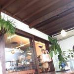 ダイニングカフェ・ボリジ - 喫煙、ペット同伴の半テラス