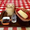 ウエストハウス - 料理写真:キャラメル カフェラテ・モーニング ♪