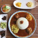 55124804 - 健康に効果的なアーユルヴェーダの副菜が楽しめるスペシャルセット1,600円(税抜)。