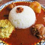 55124838 - ご飯は大盛(無料)で、辛さは1~5レベルで5を選択。