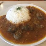 エイケイコーナー - 今日は カレージーカレー(^_−)−☆       鶏レバーのインドカレーです〜