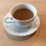 カフェ ド ラパン - 食後にコーヒー ランチならプラス100円!