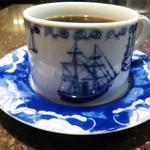 カフェ横濱珈琲物語 - キレイな青。