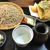 玄庵 - 料理写真:天せいろ(並)  1,360円 重ねて盛ってあるので分かりにくいけど、天ぷらの量すごいです