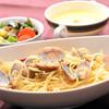 奥琵琶湖マキノ グランドパークホテル レストラン竹生 - 料理写真:ボンゴレビアンコ