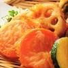 地元農家の旬野菜の唐揚げ盛り合わせ