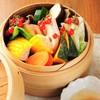 本日のセイロ蒸し野菜11品盛り