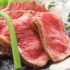 神戸牛イチボ肉のタタキ風ステーキ