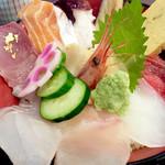 ひら井 - 海鮮丼1850円