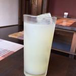 Acero - 160819 ランチのグレープフルーツジュース