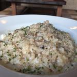 Acero - 160819 ポルチーニと挽肉のクリームリゾット