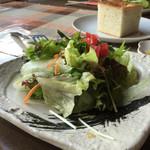 Acero - 160819 ランチのサラダ