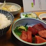 55133559 - マグロ定食