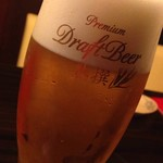 いもくりなんきん - ビールはアサヒのプレミアムビール熟撰♪