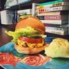 BABYBABY HAMBURGER&BOOKS - 料理写真:初めてならこれ!グリルドトマトチーズバーガー