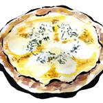 2525ピザ - 料理写真:4種チーズのピザ