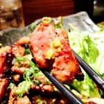 YAKITORI NSP! - 弾力のあるモモ肉は柚子胡椒と相性が良いですね‼︎