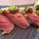 ステーキハウス 88 - 和牛炙り寿司