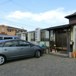 韓国家庭料理 青山 - H28.8月 外観
