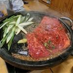 韓国家庭料理 青山 - H28.8月 プルコギ