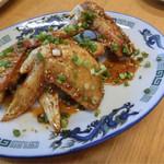 韓国家庭料理 青山 - H28.8月 手羽先