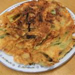 韓国家庭料理 青山 - H28.8月 チヂミ