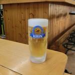 韓国家庭料理 青山 - H28.8月 ビール