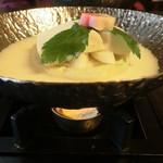 55141249 - 名物となった豆乳鍋