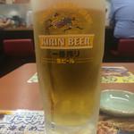 天丼てんや - 生ビール300円