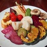 バール ボガ - 野菜の素焼き(M2,200円)