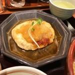 膳や - 豆腐ハンバーグ