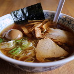 麺屋吉祥 - 料理写真:白煮干し醤油 味玉ラーメン