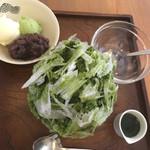 55149700 - 宇治金時(¥780)+バニラアイス(¥100)