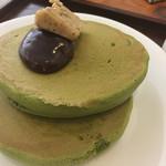 55149703 - 抹茶のホットケーキ(¥930)