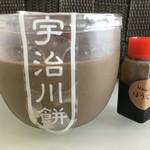 宇治川餅 - ほうじ茶プリン(¥190)