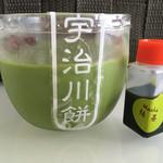 宇治川餅 - 抹茶プリン(¥190)