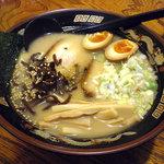 ザ・サムライ - とんこつら〜めん:700円+煮卵:80円