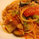 レヴァンテ - 料理写真:野菜のトマトソース(拡大)