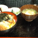 とんかつ 江戸 - カツ丼680円