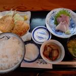 魚市場食堂 - 日替定食