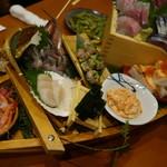 魚 枡 - 2016.08 船盛り