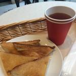 35North - シナモントーストと紅茶