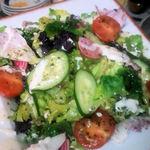 さるうて イタリアリストランテ - ヨーロッパ野菜を使った「生野菜サラダ」680税込