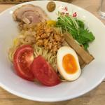 めん処羽鳥 - 冷やし中華+チャーシュー(750円+食べログクーポン)